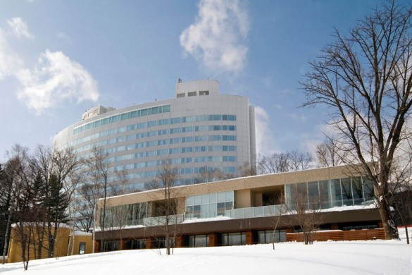 Hotel New Furano Prince ext side, Furano, Japan
