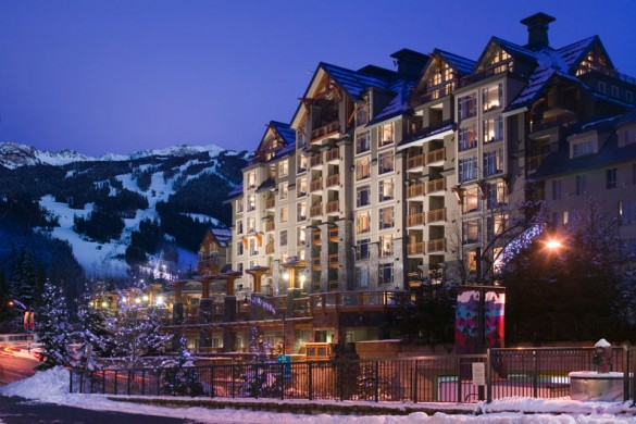 Hotel Pan Pacific Village, ext, Whistler