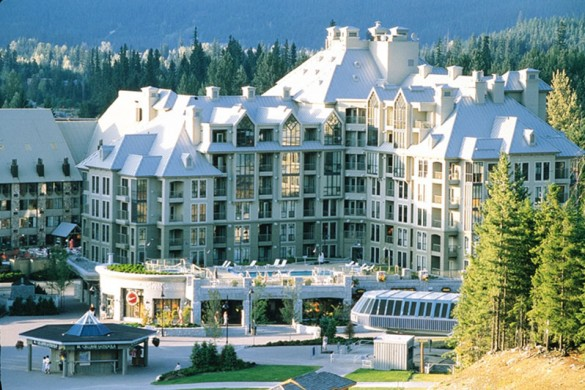 Hotel Pan Pacific Mountainside, ext, Whistler