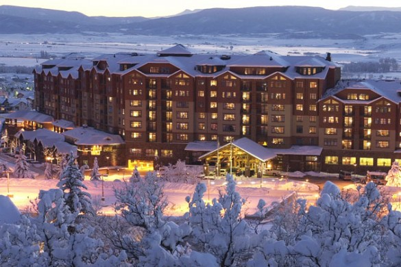Hotel Steamboat Grand Resort ext, Steamboat