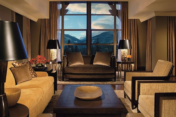 Hotel The Four Seasons Resort Whistler and Residents, lounge, Whistler
