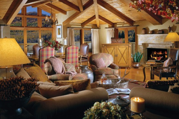 Hotel The Lodge at Vail lounge eaves, Vail