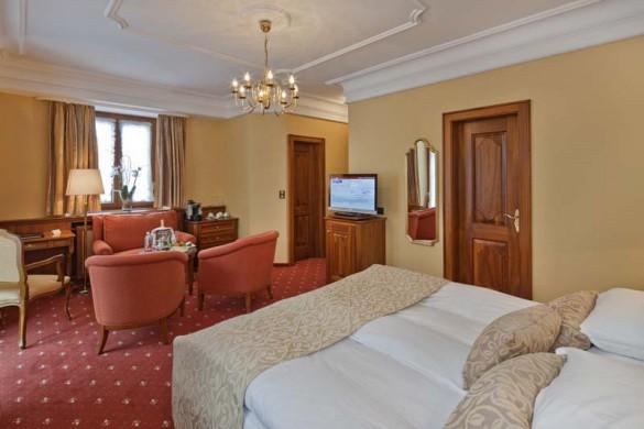Hotel Zermatterhof, bedroom 2