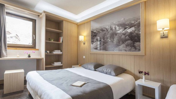 Hotel Club Les Arolles, ValThorens - Double
