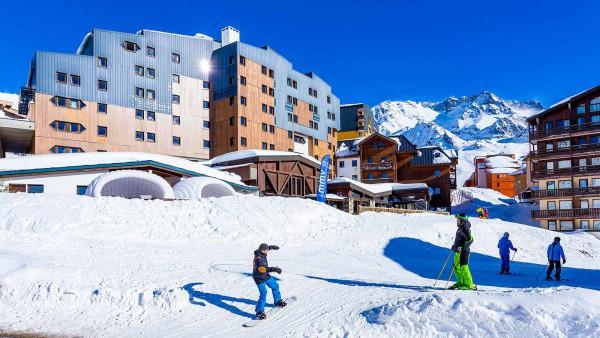 Hotel Club Les Arolles, ValThorens - Exterior