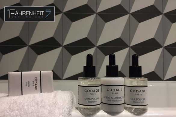 Hotel Fahrenheit 7, Val Thorens, France, Codage Bathroom Products