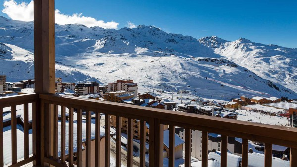 Hotel Koh-I Nor, Val Thorens - South East view