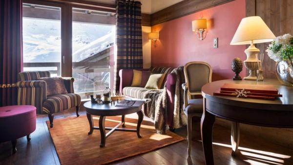Hotel Le Hameau du Kashmir, Val Thorens -  Design