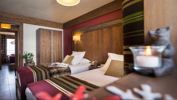 Hotel Le Hameau du Kashmir, Val Thorens -  TWin