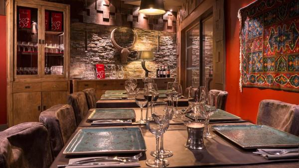 Hotel Le Hameau du Kashmir, Val Thorens - Dining