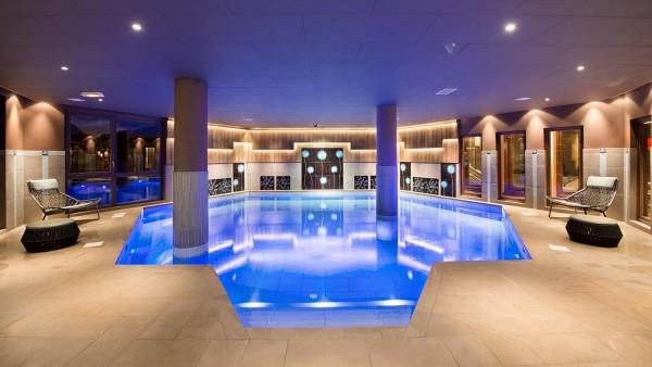 Hotel Le Hameau du Kashmir, Val Thorens - Pool