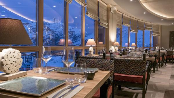 Hotel Le Taos, Tignes - Restaurant