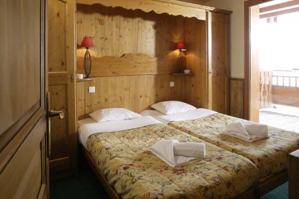Chalet Verseau bedroom