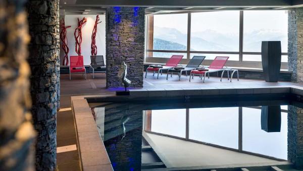 Indoor Pool, Le Lodge Hemera - Ski Apartments in La Rosiere, France