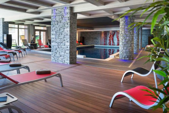 Indoor Pool, Le Lodge Hemera - Ski Apartments in La Rosiere, France