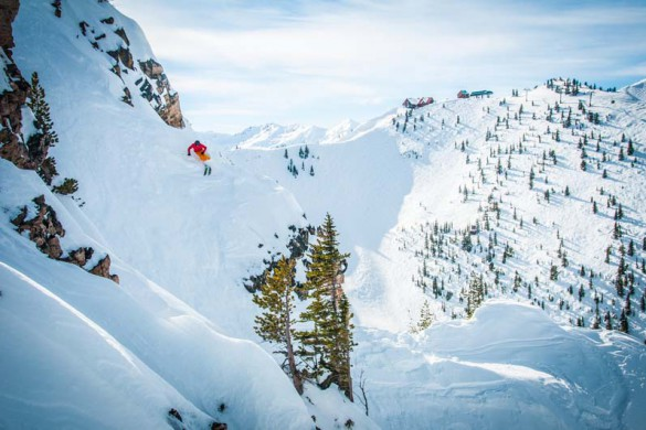 Kicking Horse, Canada, Backcountry Terrain