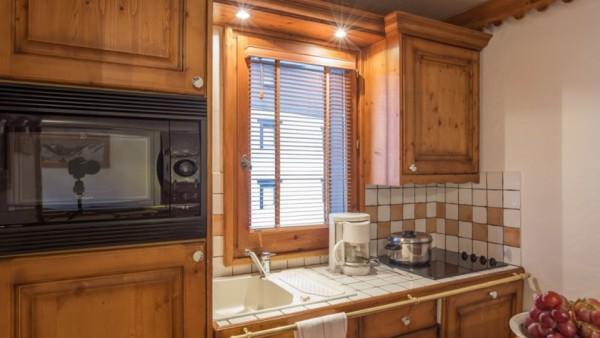 Kitchenette, Residence La Ginabelle, Chamonix, France