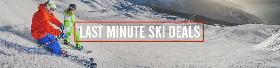 last minute ski chalet holidays