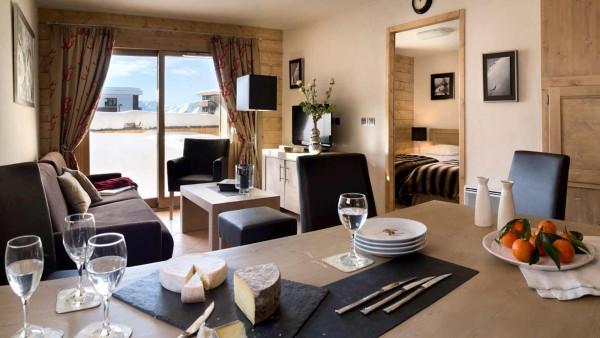 Le Cristal de l'Alpe Apartments, Alpe D'Huez - Lounge