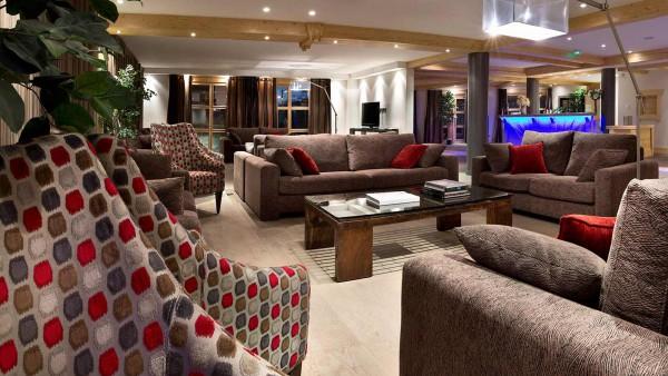 Le Cristal de l'Alpe Apartments, Alpe D'Huez - Lounge Area