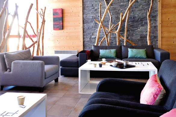 Residence Le Roc Belle Face lobby, Les Arcs