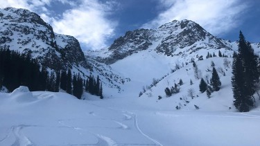 ski conditions in Lech