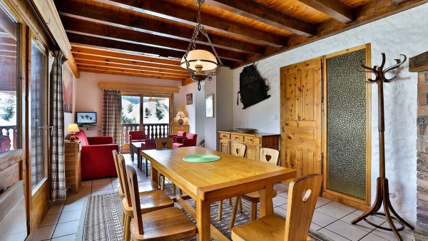 Dining Area, Chalet Leopold, Meribel, France