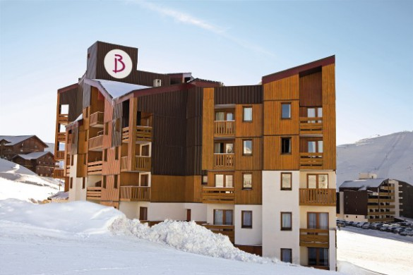 Exterior, Residence Les Bergers - Self Catered Ski Apartments in Alpe d'Huez, France