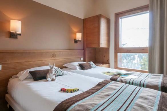 Flaine Les Terrasses d'Eos - Bedroom