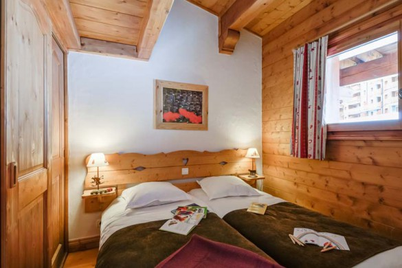 Les Alpages de Chantel, Les Arcs, bedroom
