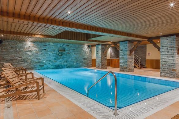 Chalet Chanterelle pool, La Plagne