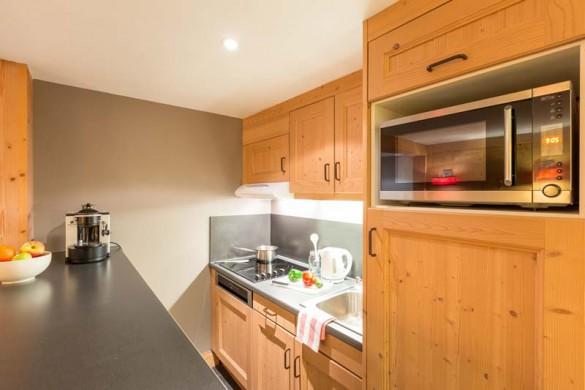 Les Crêts Apartments, Meribel, France, 2 Bedroom, 6 Person Apartment, Kitchen