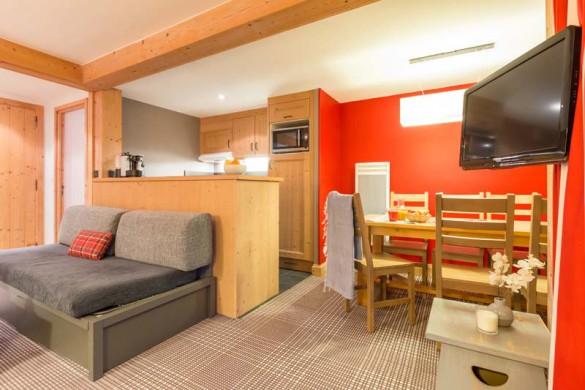 Les Crêts Apartments, Meribel, France, 2 Bedroom, 6 Person Superior Apartment