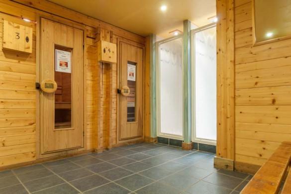 Les Fermes de Meribel, France, Sauna