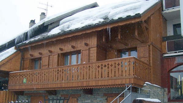 Chalet Les Rouses exterior, Les Deux Alpes