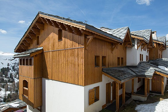 Exterior - Chalet Lever de Soleil - Ski Chalet in La Plagne, France