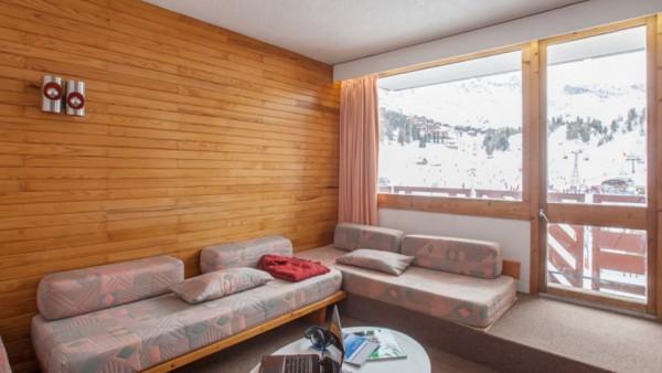 Apartment interior, Residence Bellecote, La Plagne, France