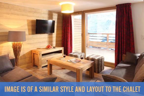 Living room, Chalet Percheron, Ski Chalet in Alpe d'Huez, France