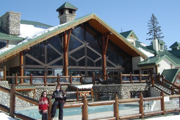 Condo Lizard Creek Lodge, ext, Fernie
