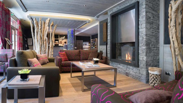 Lobby, Le Lodge Hemera - Ski Apartments in La Rosiere, France