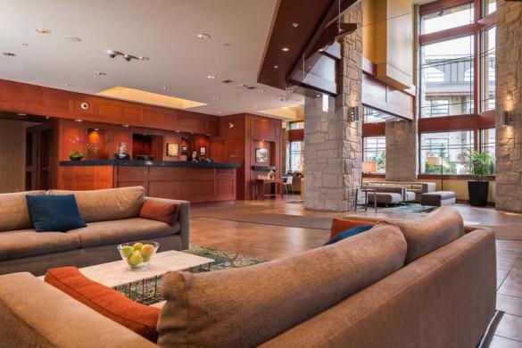 Crystal Lodge, Whistler, Canada, Lobby