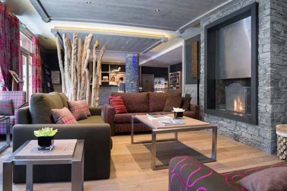 Lobby, Le Lodge Hemera - Ski Apartments in La Rosiere, France