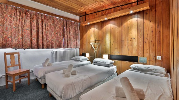 Bedroom, Chalet Lores, Val d'Isere, France