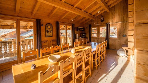 Dining Area - Chalet Louisa - Ski Chalet in Alpe d'Huez, France