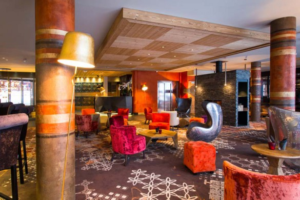 Lounge, Hotel Taj-I-Mah - Ski Hotel in Les Arcs, France