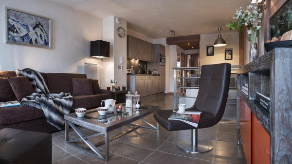Lounge at CGH Le Centaure-apartment