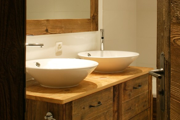 Chalet Haute Cime double sinks