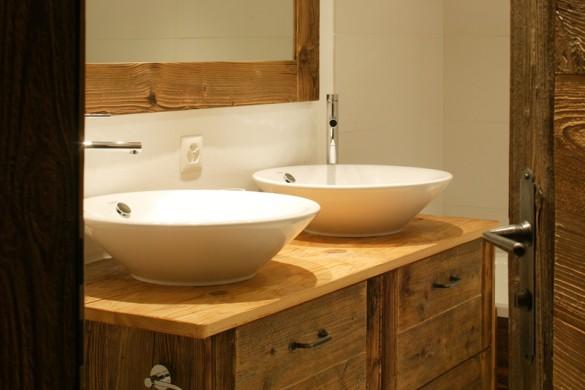 Chalet Haute Cime double sinks