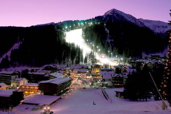 Flaine ski resort france