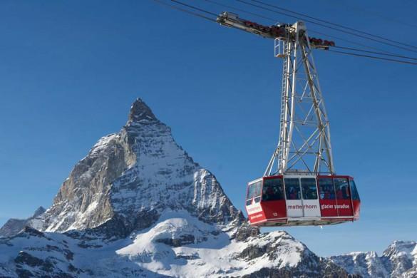 Matterhorn Glacier Paradise Cable Car, Zermatt, Switzerland